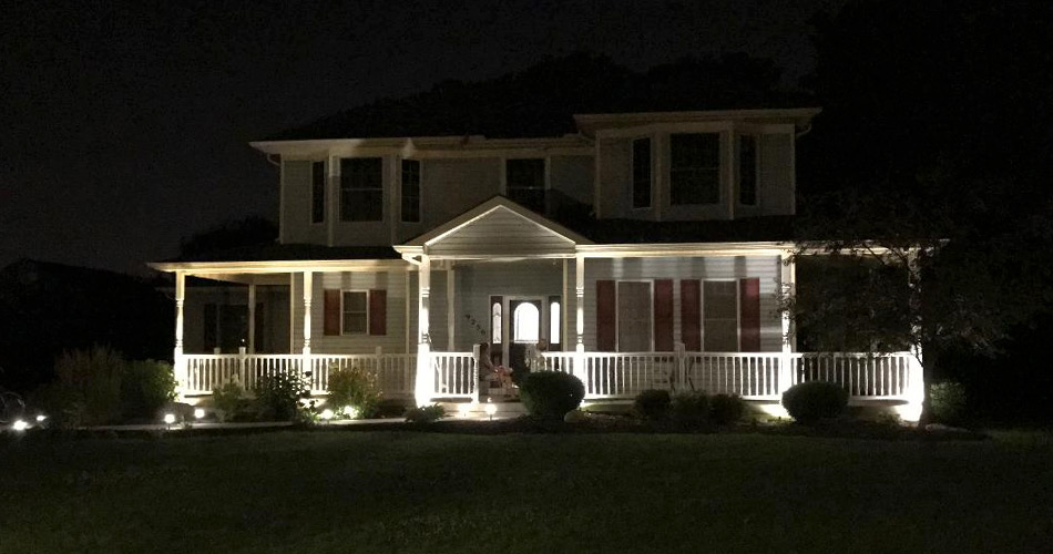 Landscape lighting installation green light electric llc landscape lighting installation aloadofball